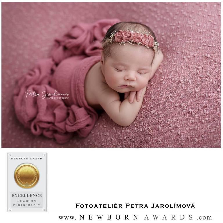 Focení novorozenců a miminek, Newborn Award Fotoateliér Petra Jarolímová